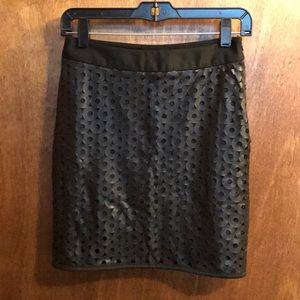 Akira Faux Leather Skirt